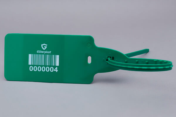 gp586 – büyük bayraklı plastik etiket mühürü